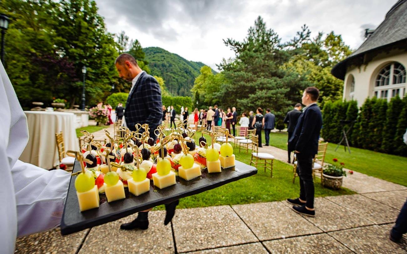 nunta cazinoul sinaia meniu ovo-lacto vegetarian - lam events